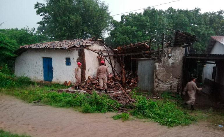 Dos muertos y 185 afectados por las tormentas
