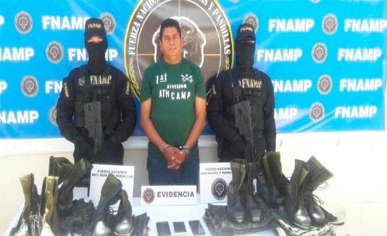 """Prisión preventiva contra """"El Sargento"""""""