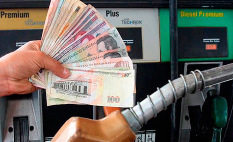 Aumentos de 91 y 83 centavos para galón de gasolina y diésel
