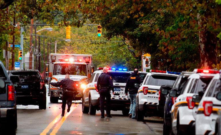 Tiroteo en sinagoga en EEUU deja 11 muertos, según medios