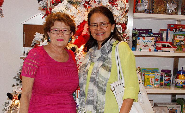Sayda Barahona y Jenny Vásquez.