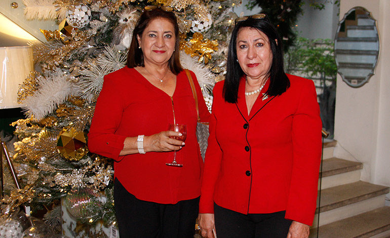 Guadalupe Kafati y Adela Kafati.