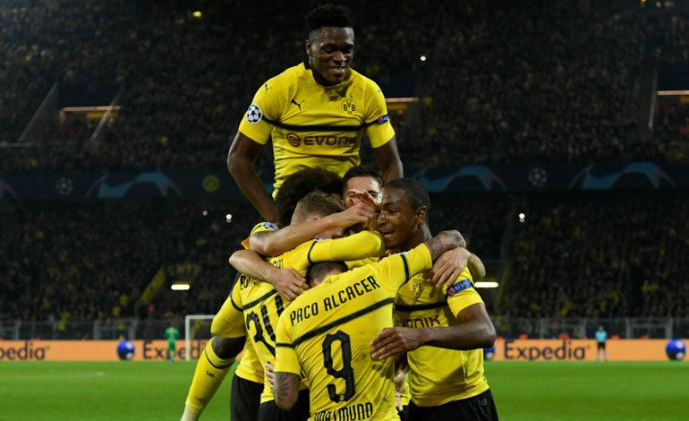 Dortmund golea al Mónaco