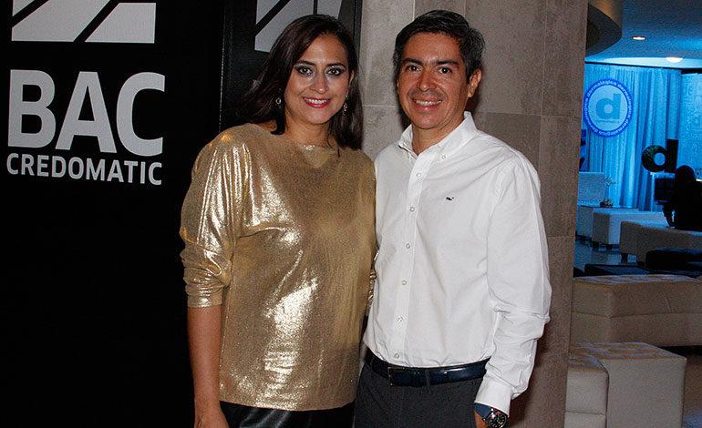 Valeria Ríos y Miguel Chong.