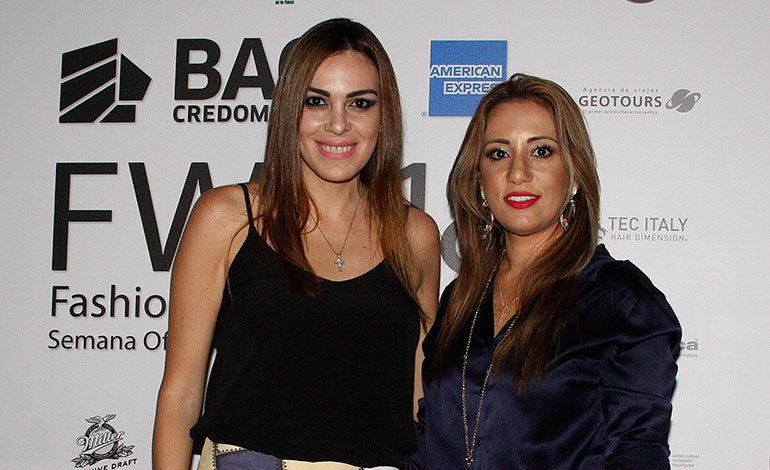 Karine Niño y Alia Kafati.