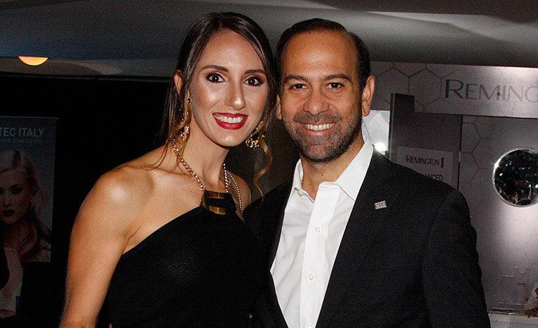 Pamela y Andres KAfati.
