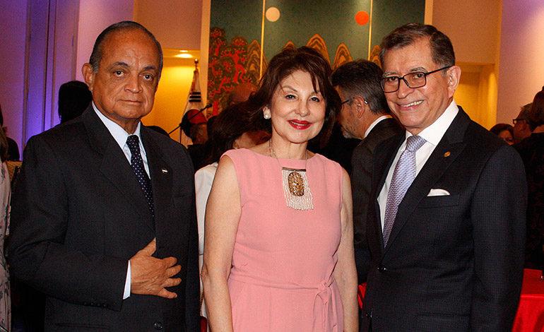 Roberto Gálvez, Armida de López, Carlos López Contreras.