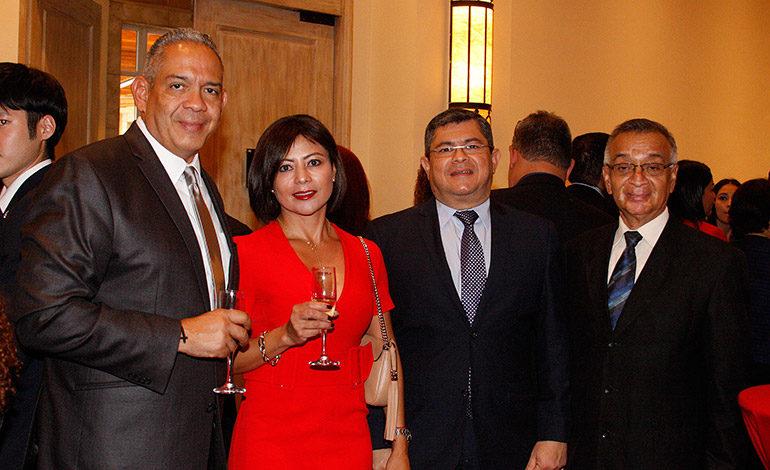 Mario Noé Villafranca, Katia de Noe, Leonel Ayala, Ernesto Gálvez.