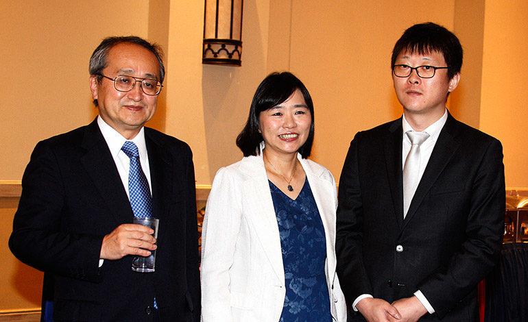 Norio Fukuta, Junko Fukuta, Youn Jae Kian.