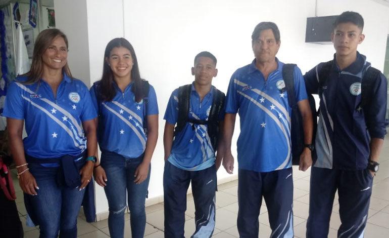Hondureños viajaron a los Juegos Olímpicos de la Juventud