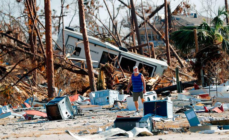Huracán Michael dejó al menos 20 muertos en Florida