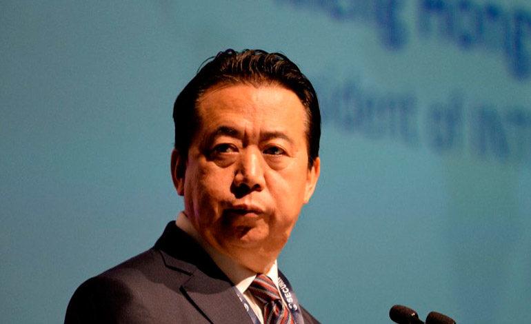 Interpol pide oficialmente a China que aclare la situación de su jefe Meng Hongwei