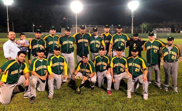 Medias Verdes campeones del béisbol capitalino