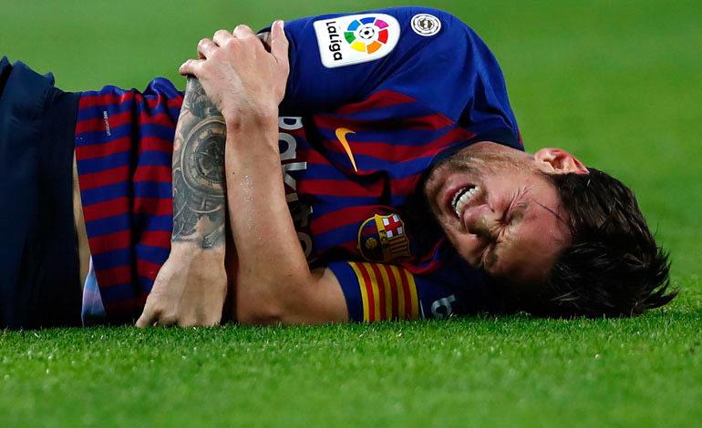 Messi no precisa de cirugía