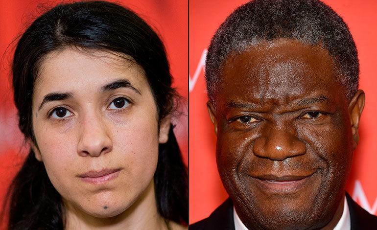 La UE felicita a Denis Mukwege y Nadia Murad tras ganar el Nobel de la Paz