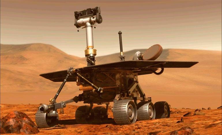 La NASA intenta retomar el contacto con su vehículo Opportunity en Marte