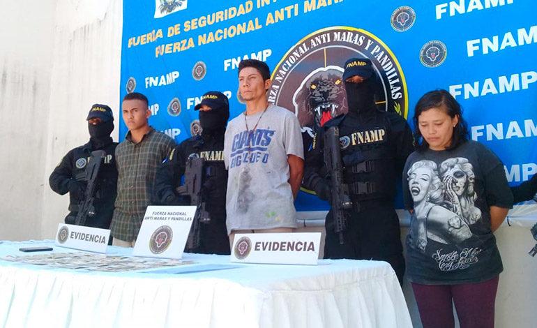 Presos mareros que causaban terror en zona de Amarateca