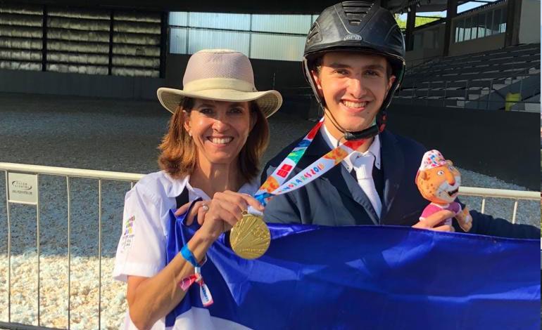 Hondureño Pedro Espinosa Atala gana oro Juegos Olímpicos de Buenos Aires