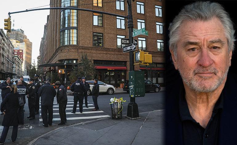 Paquete sospechoso fue enviado al actor Robert De Niro