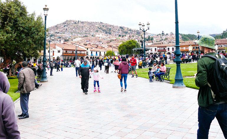 """Pumas """"rugen"""" en la inca y colonial ciudad de Cuzco"""