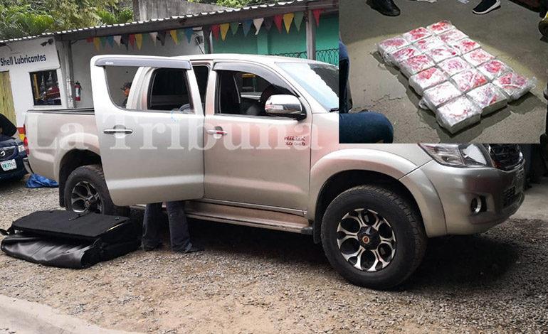 Confiscan unos $400 mil en taller mecánico de San Pedro Sula