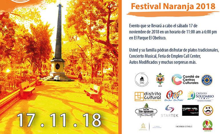 """Celebrarán este sábado la primera edición de """"Festival Naranja"""""""