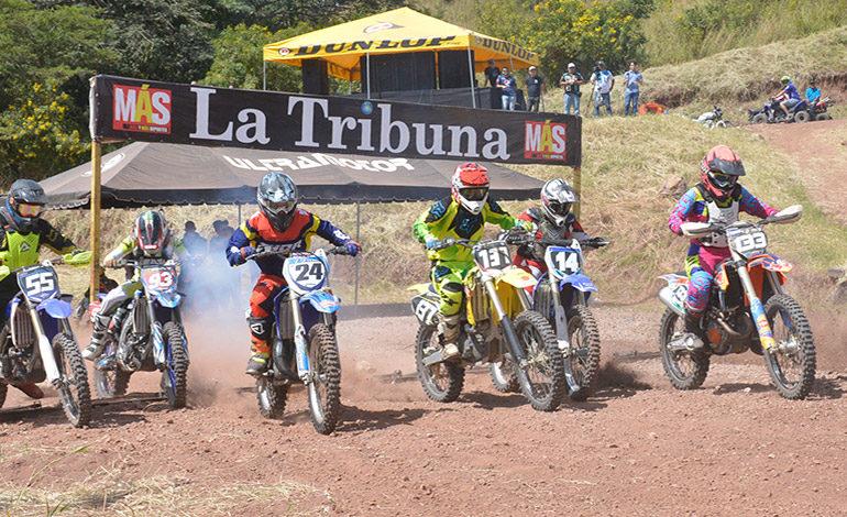 Nacional de Motocross cerró con emocionante competencia