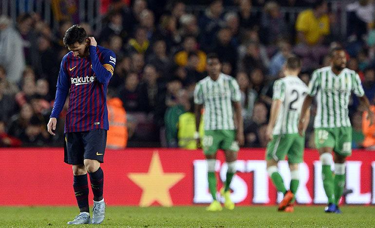 Barcelona cae con Betis en la vuelta de Messi, Real Madrid gana en Vigo
