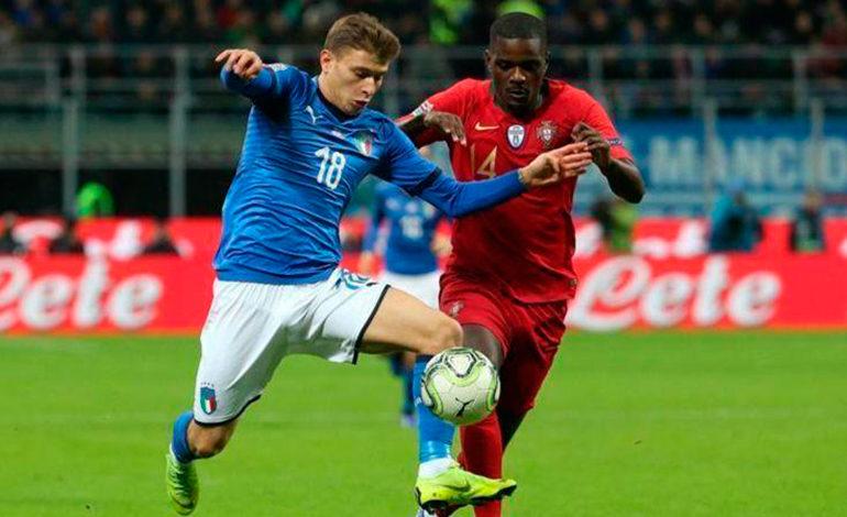 Portugal resiste a Italia y jugará la fase final de la Liga de Naciones