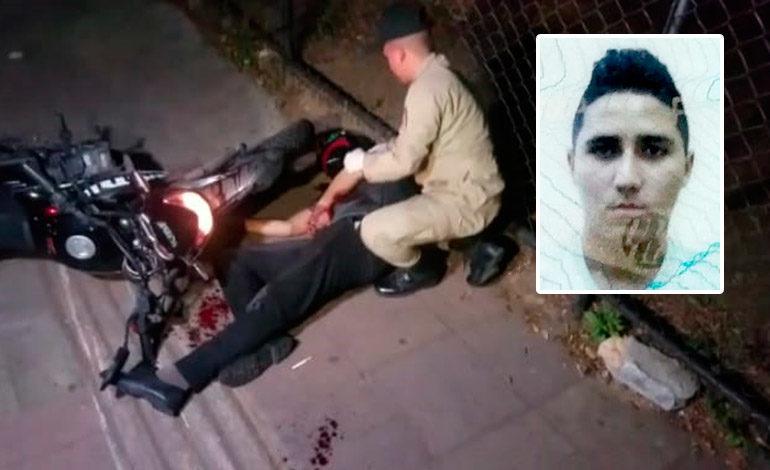 Motociclista perece baleado por asaltantes