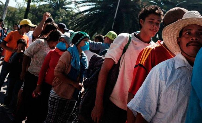 Migrantes hondureños escogieron la ruta del diablo