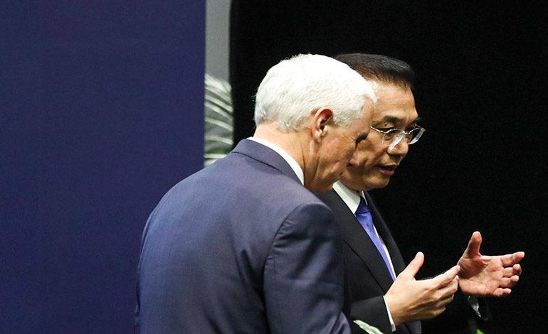 Rivalidad entre EEUU y China incomoda a sureste asiático