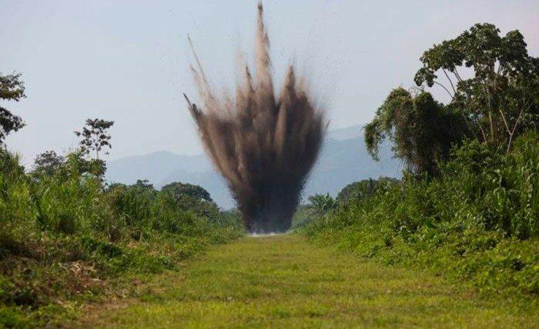 Destruyen una pista clandestina usada para narcotráfico en Gracias a Dios