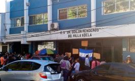 Toman las instalaciones del centro de salud de Villa Adela en Comayagüela