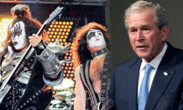 Bush reparte pizzas y miembros de Kiss dan comida a afectados por el cierre