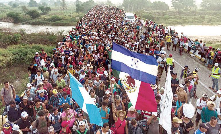 Las Especulaciones rodean la formación de una caravana madre de migrantes