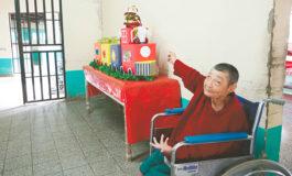 Original exposición navideña disfrutaron pacientes del Santa Rosita