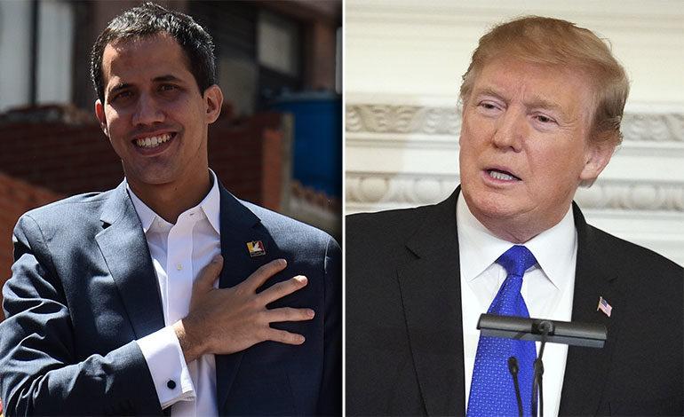 """Guaidó agradece a Trump """"apoyo"""" a recuperación de democracia en Venezuela"""