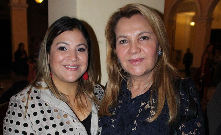 Gabriela Giannini y Sandra de Giannini.