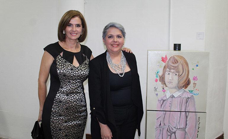 Suyapa Monterroso y Pamela Letona.