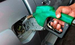 Combustibles suben de precio a partir del lunes