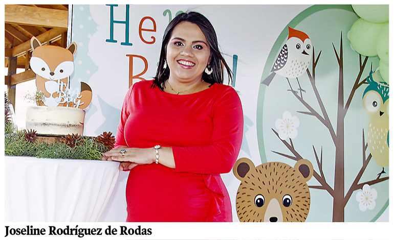 La dulce espera de Joseline de Rodas
