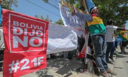 La oposición boliviana llama a protestar contra Evo Morales