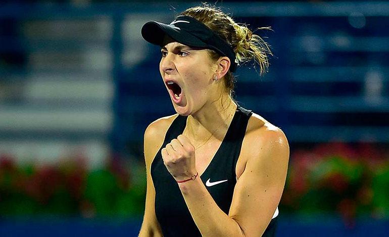 Belinda Bencic culmina la semana con título en Dubai