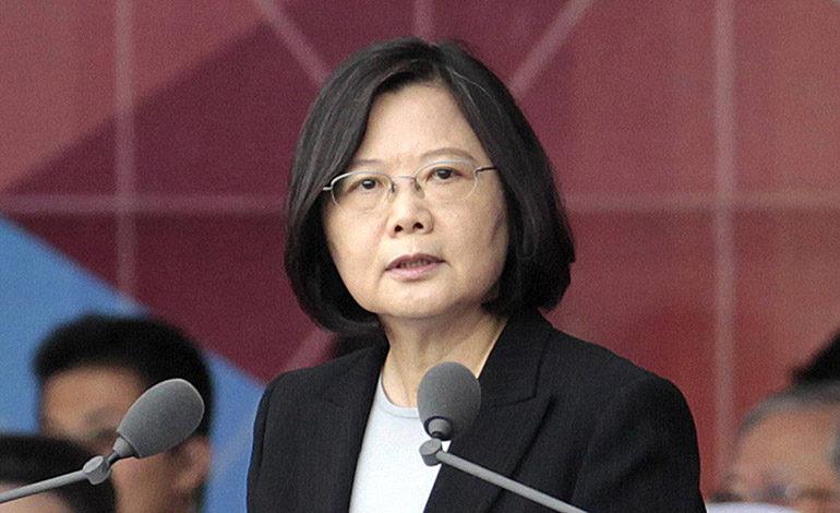 Presidenta de Taiwán anuncia su reelección