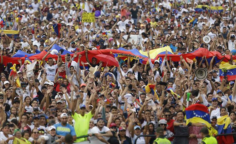 Juan Guaidó llega a concierto del lado colombiano de frontera