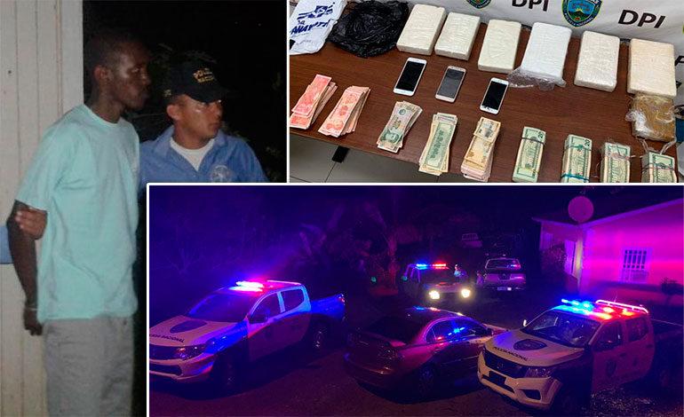 Capturan a hondureños con droga y dinero en Roatán