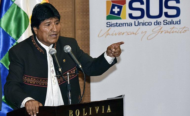 Opositores pedirán frenar a Morales