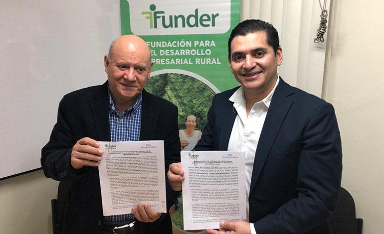 Swisscontact y Funder: Acuerdan fortalecer 96 cajas rurales en Valle y Choluteca