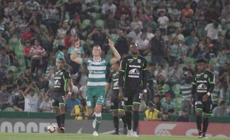 Santos Laguna acaba con el sueño de Marathón en Concacaf
